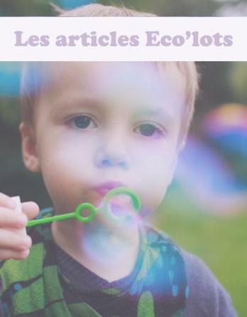 5- Les articles écologiques