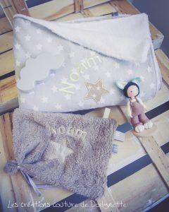 couverture doudou cadeau naissance
