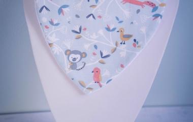 bavoir bandana anti bave bébé