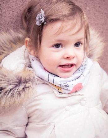 le snood bébé (9/24 mois) évolutif