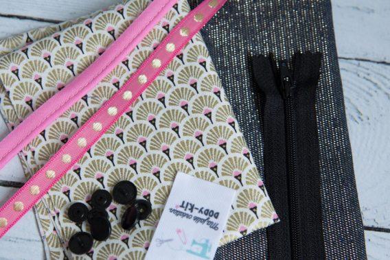 kit couture porte monnaie noumea dodynette