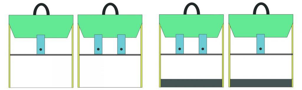 schéma sac à dos