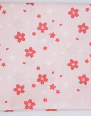 coupon de tissu fleurs du japon rico deign dodynette
