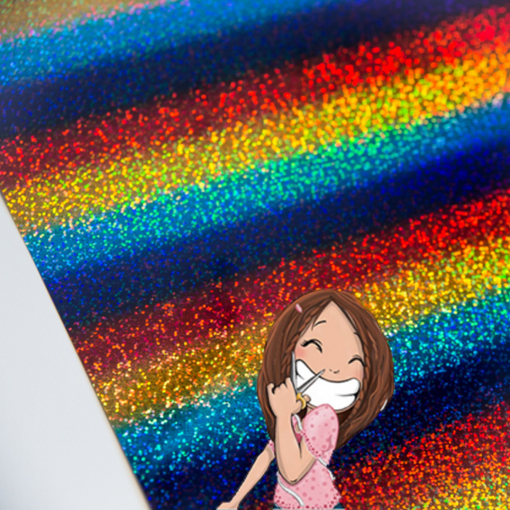 flex holigraphic siser multicolore dodynette