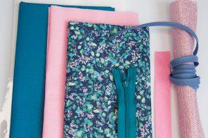 kit couture porte monnaie magnolia